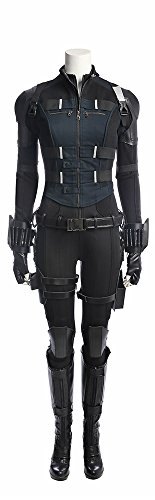 Mtxc Women's Avengers: 3 Cosplay Black Widow Full Set