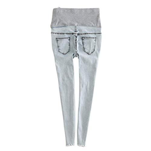 Bande Grossesse Élégant À Pantalon Stil De Targogo Ventre Maternité Mode Slim Pants Avec Leggings Jeans Poches Fit Vintage La 2 eEW9HI2DY