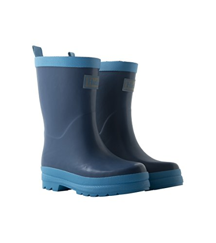 Hatley Kids' Classic Boots Rain Accessory, Navy, 4 M US Toddler by Hatley