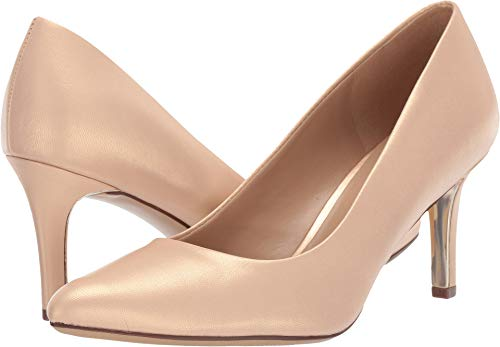 Naturalizer Women's Natalie Soft Nude Pearl Leather 6.5 W US