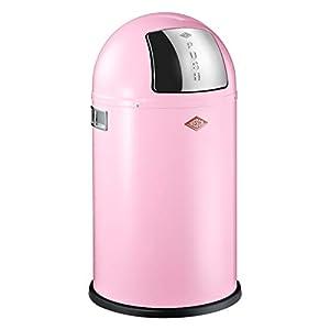 WESCO 175 531-26 - Cubo de la Basura, 22 l, Color Rosa