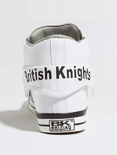 white British Roco Calzado Hombres 20 Knights zapatillas grey De Deporte Blanco YprYw8q