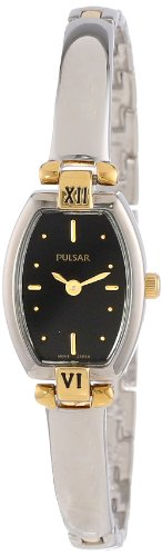 Pulsar Women's PEGA70 Dress Two-Tone Stainless Steel Watch