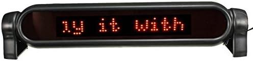 YONGYAO Led Auto Display Board Programmeerbaar Elektronisch bewegen Scrolling Message System 12V - Rood