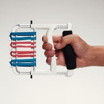 Ergonomic Hand Exerciser White Rolyan Ergonomic Hand Exerciser - Model 561427 ()