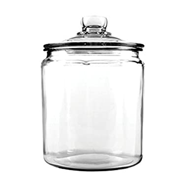 Anchor Hocking Heritage Hill Glass Cookie/Candy Jar, 1/2-Gallon
