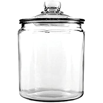 Anchor Hocking 77916 Heritage Hill Canister, Glass, 1/2-Gallon