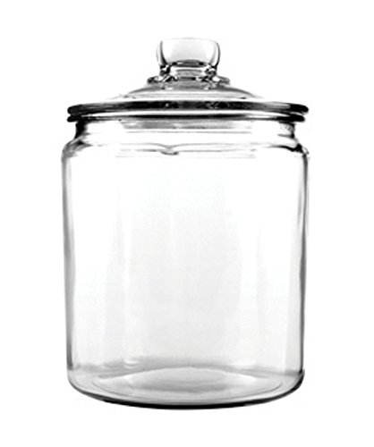 Anchor Hocking 77916 Heritage Hill Canister, Glass, (Glass Candy Jar)