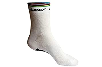 Massi World Champion - Calcetines unisex, color blanco: Amazon.es: Deportes y aire libre