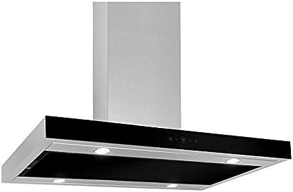 Campana akpo WK de 9 FENIKS Glass Negro/50 cm/650 M3/H – Campana extractora de pared – Campana: Amazon.es: Grandes electrodomésticos