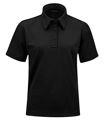 Propper mens I.C.E. Women's Performance Polo - Short sleeve, Black, - Gear I Sunglasses