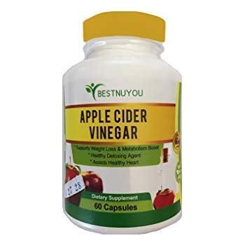 Amazon.com: Apple Cider Vinegar Capsules Organic ACV