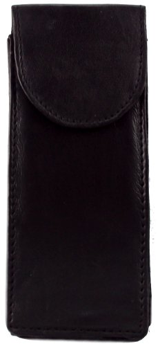 Genuine Leather Double Glasses Case - Style mw1508 by Gift Warehouse (Image #5)