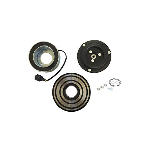 - Hex Autoparts A/C AC Compressor Clutch Repair Kit - Drive Plate Hub Pulley Bearing Coil for Nissan Pathfinder 2005-2012 4.0L V6 Engine
