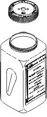 Condenser Waste Bottle With Lid for Scican SCB018