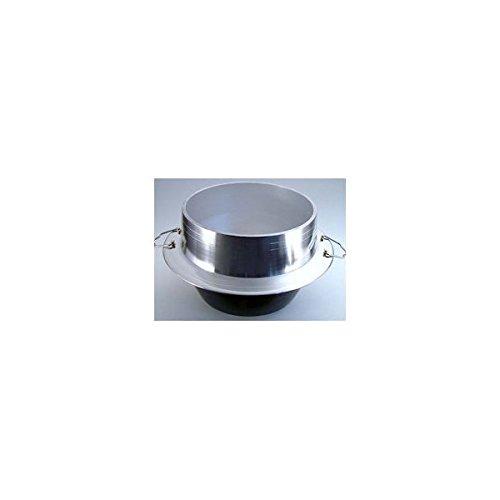 ナカオ 羽釜 (カン付) 40cm アルミ鋳物 日本 AKVG840   B001T1DB14
