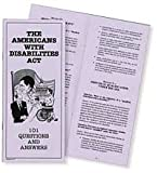 The Americans with Disabilities Act, Michael J. Piette and Dubravka Kulisic, 0884506177