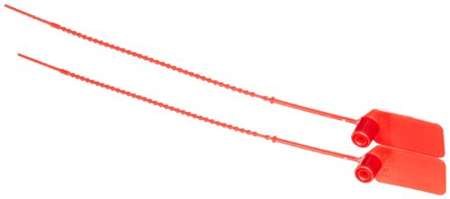 Brady 95150 Red Color Pull-Tite Seals (Pack Of 100) by Brady