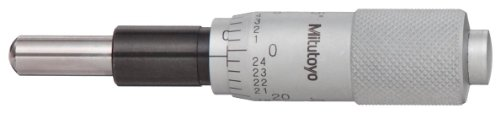 Mitutoyo 149-811 Micrometer Head, Carbide-Tipped Spindle, 0-0.5