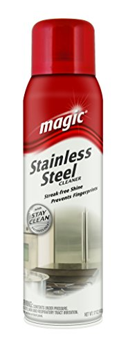 Magic Stainless Steel Cleaner Aerosol 17 oz
