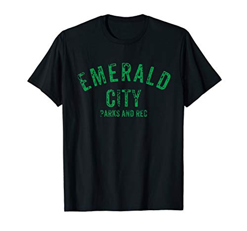 Emerald City, Park & Rec. shirt for fans of the Wizard of Oz -
