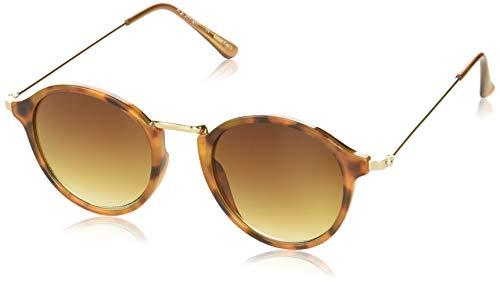 A.J. Morgan Sunglasses Muffins Round Sunglasses, Tortoise, 48 mm