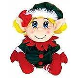 """Santas Secret Elf Girl Hand Puppet 11"""" by Fiesta"""