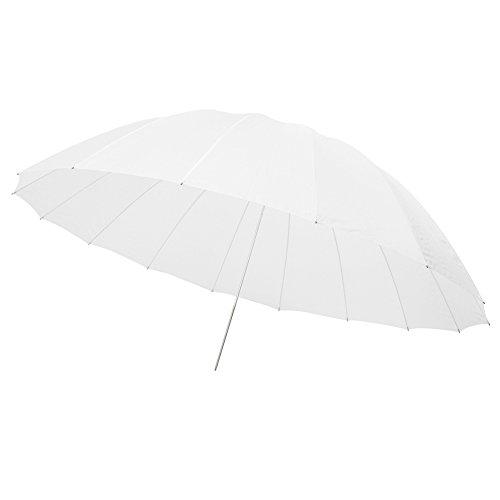 "Neewer 72""/185cm White Diffusion Parabolic Umbrella 16 Fiberglass Rib 7mm Shaft, includes Portable Carrying Bag"