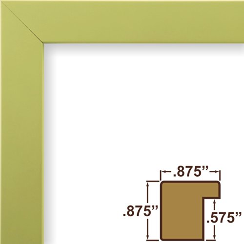craig-frames-140646-8-by-10-inch-picture-frame-solid-wood-smooth-finish-875-inch-wide-pastel-olive-g