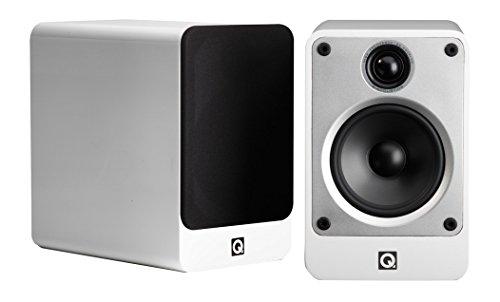 Q Acoustics Concept 20 boekenplank luidsprekers – (paar) (glans wit)