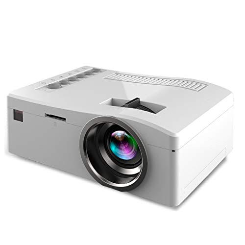 QTT Mini Projector, Mini Portable Mini HD Projector Home LED Projector (White) from QTT