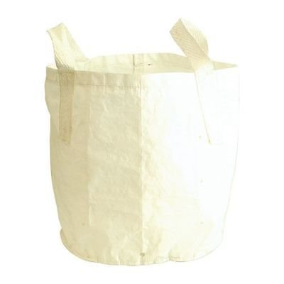 2 x 20 Litre WHITE Large Grow Bag Planter Potato Vegetable Tree Carrot Growing Bags Pot Sack S&MC Gardenware