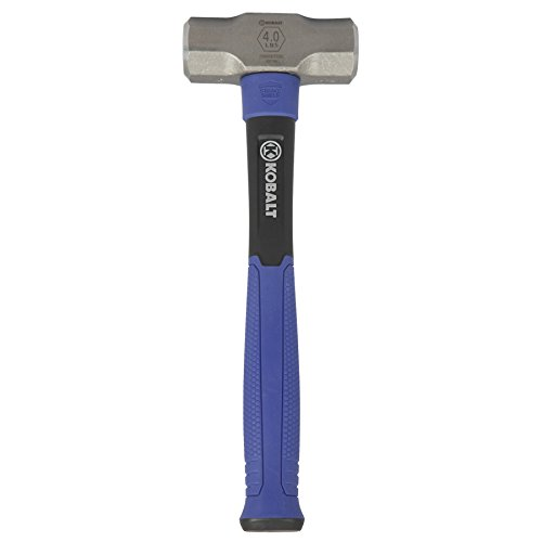 Kobalt 4-lb Forged Steel Sledge Hammer with 14-in Fiberglass Handle
