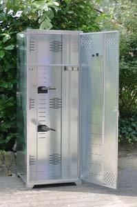 Döring Metallschrank Universal, Sattelschrank standard 160x60x60 cm zerlegbar