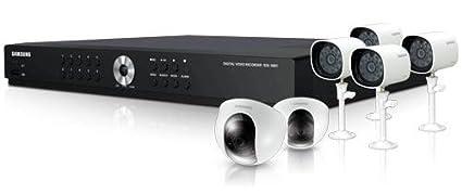 amazon com samsung sde 4001 8 ch security system with 6 cameras rh amazon com Samsung Digital Video Recorder with Box Samsung Digital Video Recorder SDE