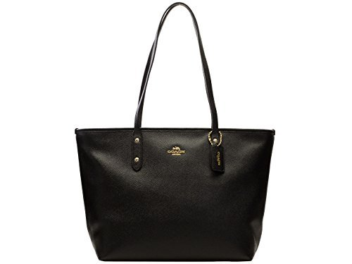 Coach Bag (Tote Bag) F58846 Leather Tote Bag Women's [Outlet Item] [Parallel Import Goods] (Black)