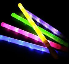 """19"""" Flashing Light-Up Saber Wand with Different Light-Up Settings (Assorted Colors)"""