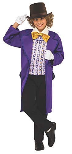 Rubie's Costume Kids Willy Wonka & The Chocolate Factory Willy Wonka Value Costume, Large -