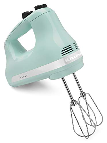 5-Speed Hand Mixer Blue Vintage Kitchen Fifties Style