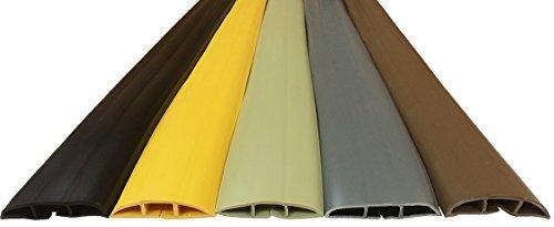 Small Plastic Cord Cover - 5FT - Black