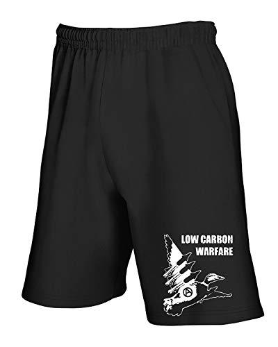 shirtshock Tco0097 Pantaloncini T Low Warfare Nero Tuta Carbon aw6nqg