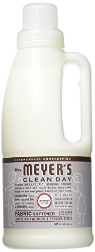 MRS. MEYER'S Fabric Softener,Lavender, 32 FZ 6 pk