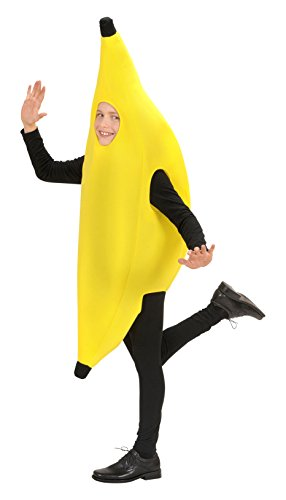 Children's Banana Child 140cm Costume For 60s 70s 80s Cartoon Fancy Dress (80s Fancy Dress Characters)