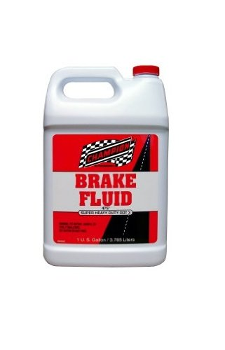 Champion Brands 4057F-CASE-6 'DOT-3' Brake Fluid - 1 Gallon, (Pack of 6) by Champion