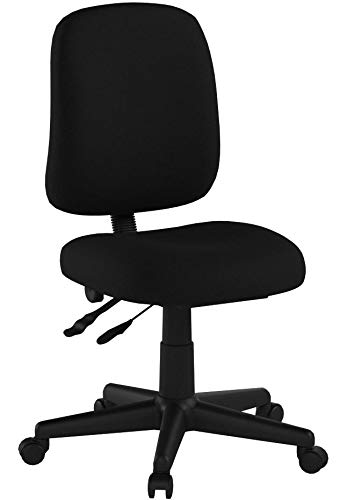 Ofm Posture Series Armless Mid Back Task Chair Stain