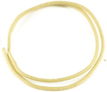 50 Feet Gavitt Cloth-covered Pre-tinned 7-strand Pushback 22awg Vintage-style Guitar Wire Yellow