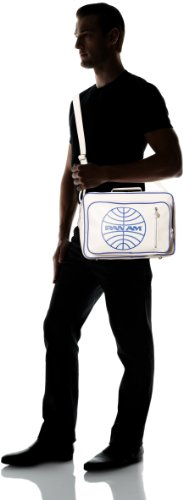 Original Hombres Blanco Agent Bolsas Shoulder Pan 100 PVC Am Secret Bag qwF56P4