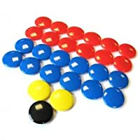 Precision Sport Training Tactic Board Spare Magnets - 2cm 27 Magnets - Match day