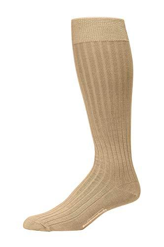 (Boardroom Socks Men's Over the Calf Pima Cotton Dress Socks,)