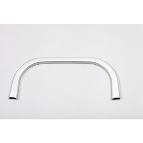 Rugged Ridge 11151.18 Brushed Silver Rear Cup Holder Accent Trim